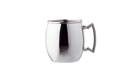 Old Dutch 16 oz. Stainless Steel Moscow Mule Mug with Stainless Steel Handle. Free Returns.