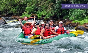 River Trail Guides: Half-Day Fishing or Rafting Trip from River Trail Guides (51% Off)