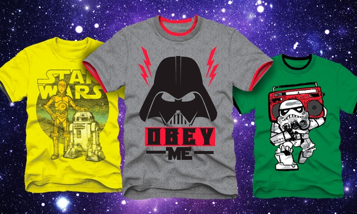 Star Wars Children's Tees: Star Wars Children's Tees. Multiple Designs Available. Free Returns.