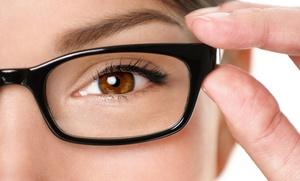 Gafas graduadas monofocales o progresivas con montura y lentes antirreflejantes o de sol desde 39,90 € en Saludvisión