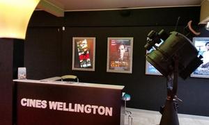 Cinés Wellington: Vaderdag bij Cinema :€11 voor 2 cinematickets (inclusief 3D-voorstellingen) en 2 zakjes popcorn bij Cinés Wellington