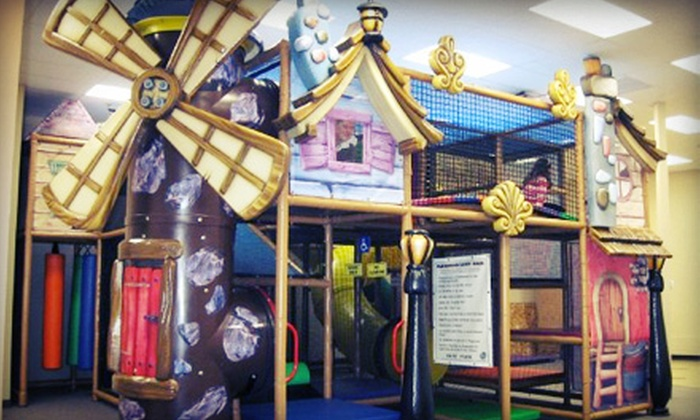 Aplaydia Indoor Playground and Ivy School of Music - Bedford: Indoor Play Visits at Aplaydia Indoor Playground and Ivy School of Music (Up to 62% Off). Three Options Available.