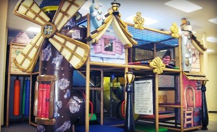 Indoor Play Visits at Aplaydia Indoor Playground and Ivy School of Music (Up to 62% Off). Three Options Available.