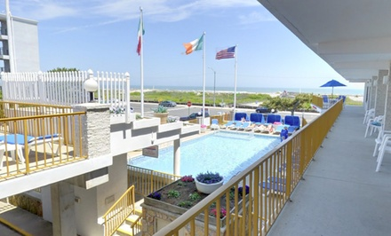 Beachfront Resort on Jersey Shore