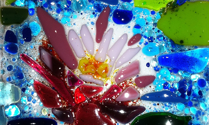 Glass Class - Durham: Two-Hour Glass-Fusing Class for One or Two at Glass Class in Durham (Up to 51% Off)