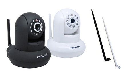 Foscam Megapixel HD 1280x720p H.264 Wireless/Wired Pan/Tilt IP Camera (FI9821WV2)