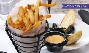 Sips Bistro & Bar: French Cuisine at SIPS Bistro & Bar (Up to 38% Off). Two Options Available.