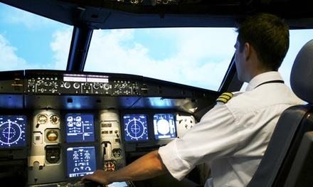 Bis zu 180 Minuten im original Cockpit A320 auch mit Bewegung bei EVS Flighttraining (bis zu 54% sparen*)
