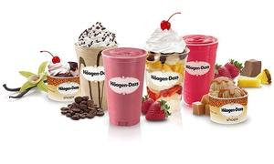 Haagen Dazs Deer Park: Ice Cream Treats or Cake at Häagen-Dazs (Up to 50% Off)