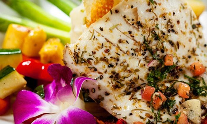 Kahunaville Island Restaurant & Party Bar - Treasure Island Hotel & Casino: $26 for an Island-Themed Dinner for Two at Kahunaville Island Restaurant & Party Bar (Up to $53.96 Value)