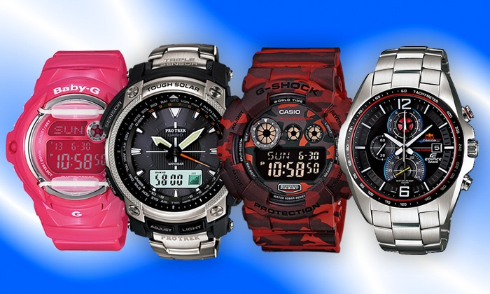 Groupon Goods: R200 Voucher to MyCasioWorld for R50 When Purchasing any Watch to the Value of R1 000 or More