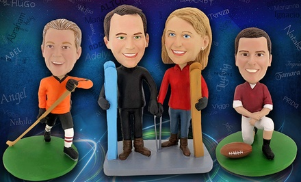 Individual or Couple Custom Bobbleheads from BigBobble for $52.99–$price