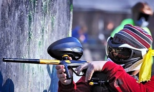 AG Paintball: All-Day Session with Equipment and 250 Paintballs Each for Two or Four at AG Paintball (Up to 63% Off)