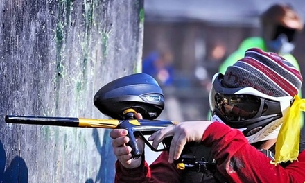 All-Day Session with Equipment and 250 Paintballs Each for Two or Four at AG Paintball (Up to 63% Off)