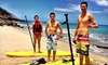 West Oahu SUP - Waianae: Snorkel Tour or Dolphin Adventure Tour at West Oahu SUP (Up to 63% Off)