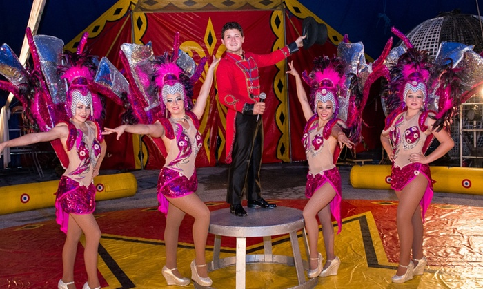 Polack Bros. Circus - just off 1-30: Polack Bros. Circus Family Admission for Two Adults and Three Kids (March 18–21)