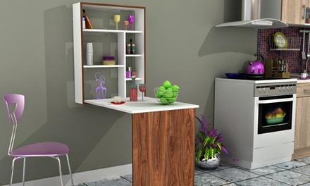 minar schreibtisch mit regal groupon goods. Black Bedroom Furniture Sets. Home Design Ideas