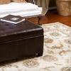 Dupont Leather Storage Ottoman