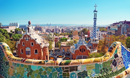 ✈ Barcelona: 2 to 4 Nights with Breakfast and Return Flights at 4* Hotel 4 Barcelona*