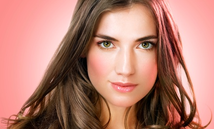 Haircut with Optional Partial or Full Highlights, or Prom Hair Styling and Makeup at True Salon (Up to 56% Off)