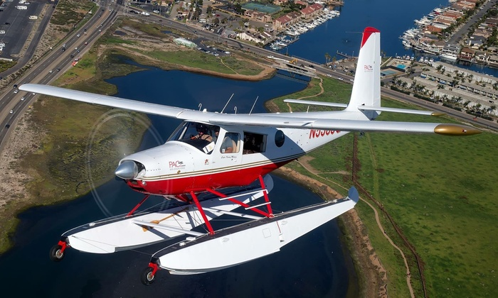 PAC Seaplanes - Fullerton: Up to 47% Off 40 Minute Seaplane Tour 1 or 2 at PAC Seaplanes