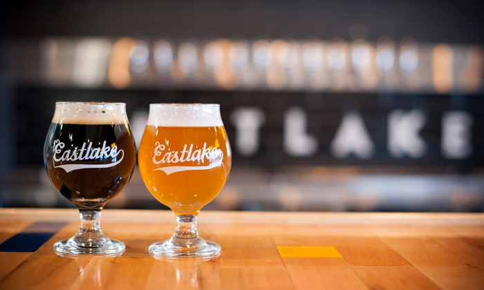 Eastlake Craft Brewery - Midtown Global Market: Craft Beer Tastings for Two or Four at Eastlake Craft Brewery (Up to 48% Off). Four Options Available.