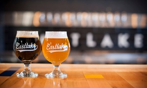 Eastlake Craft Brewery: Craft Beer Tastings for Two or Four at Eastlake Craft Brewery (Up to 48% Off). Four Options Available.