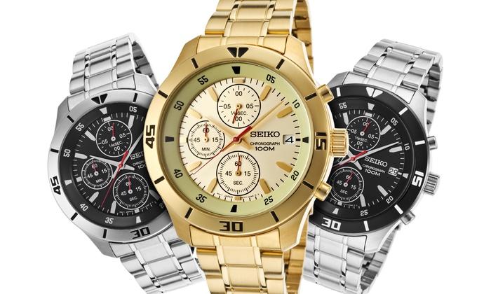 Seiko Men s Chronograph Watches  f029922e5672