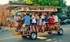 Sprock n' Roll Party Bikes - Sprock n' Roll: Mix n' Mingle Rides for 2 or 4 with Sprock n' Roll (Up to 46% Off). Four Options Available.