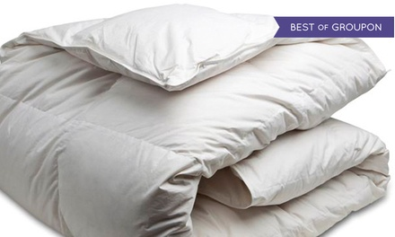 Goose Feather Duvet for a Twin, Double, Queen, or King Bed at Canadian Down & Feather Company (Up to 61% Off)