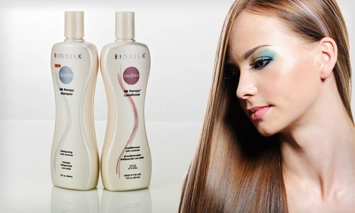 BioSilk Shampoo and Conditioner: $19 for BioSilk Silk Therapy Shampoo and Conditioner ($27.50 List Price). Free Shipping.