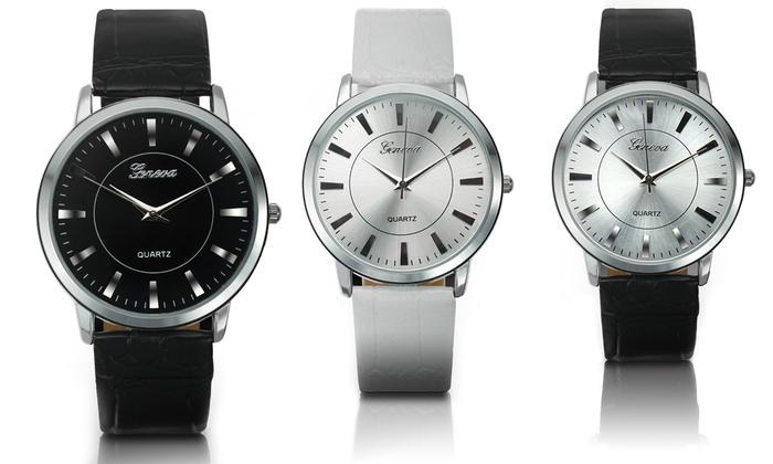 53b40a231 Geneva Platinum Men's Watch   Groupon Goods