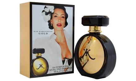 Kim Kardashian Gold Eau de Parfum for Women; 3.4 Fl. Oz.