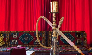 The Tent Hookah Lounge: Package for Two or Four with Appetizers, Drinks, and Hookah Rental at The Tent Hookah Lounge (50% Off)