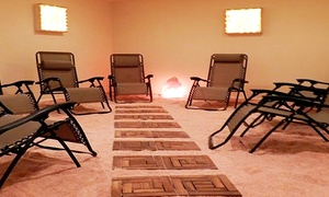 The Salt Vault: One or Three Salt-Therapy Sessions at The Salt Vault (Up to 53% Off)