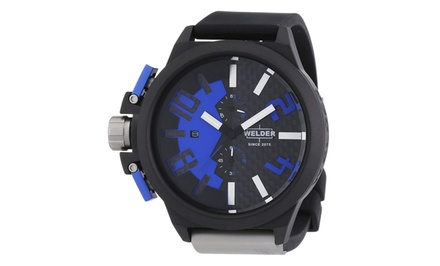Welder by U-Boat Men's K33 or K35 Chronograph Watches.