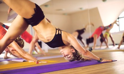 A Hot <strong>Yoga</strong> Class at Namaste (67% Off)