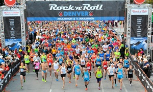 Rock 'n' Roll Marathon : Rock 'n' Roll Denver Marathon and 1/2 Marathon on Sunday, October 18