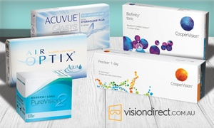 Vision Direct: $40 to Spend on all Contact Lenses at Vision Direct