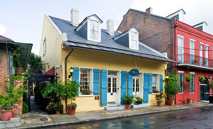 18th-Century Cottages in French Quarter