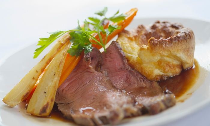 Corner House Hotel - Taunton: Two-Course Sunday Lunch for Two or Four at The Retreat at Corner House Hotel (Up to 50% Off)