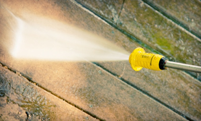 Beluga Cleaning - Downtown: Pressure Washing for a Deck, 1-Story House, or 1.5- or 2-Story House from Beluga Cleaning (Up to 67% Off)