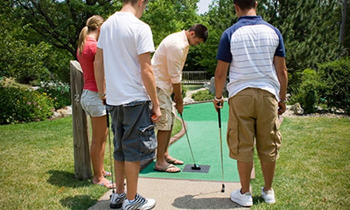 Paradise Fun Center - New Braunfels: Mini Golf for Three, Five, or Seven at Paradise Fun Center (Up to 69% Off)