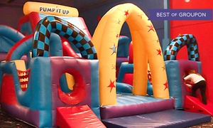 Pump It Up & Pump It Up Jr: 5 or 10 Play Visits at Pump It Up or Pump It Up Junior (Up to 64% Off)