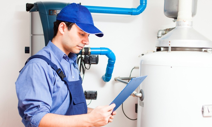NY Water Heater Incorporated - East Farmingdale: $49 for a Water Heater Flush and Boiler Inspection from NY Water Heater Incorporated ($199 Value)