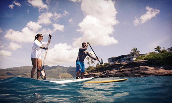 Wet Feet Hawaii - Kuliouou - Kalani Iki: Full-Day Standup-Paddleboard Rental for One or Two from Wet Feet Hawaii (Up to 55% Off)