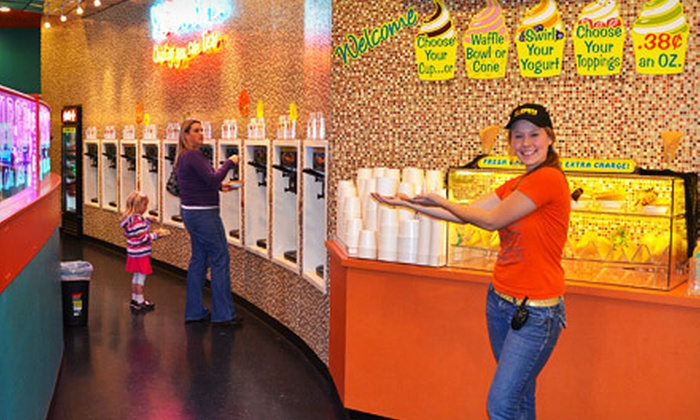 Yogurtz - Northeast Meridian: $10 for $20 Worth of Frozen Yogurt, One Carry-Out 32 Oz. Frozen Yogurt, or Birthday Party for Up to 12 at Yogurtz