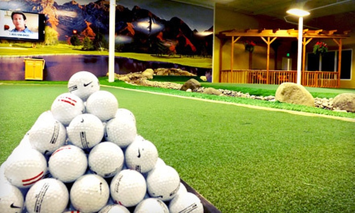 Black Clover Golf Academy - Draper: Indoor Golf Practice and Instruction at Black Clover Golf Academy (Up to 66% Off). Three Options Available.