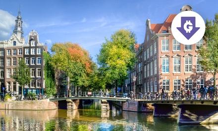 Amsterdam 4*: camera standard con colazione e cena opzionale a 104€euro
