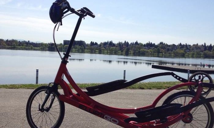 Precor Home Fitness - Multiple Locations: Four-Hour ElliptiGO Rental for One or Two at Precor Home Fitness (Up to 75% Off)